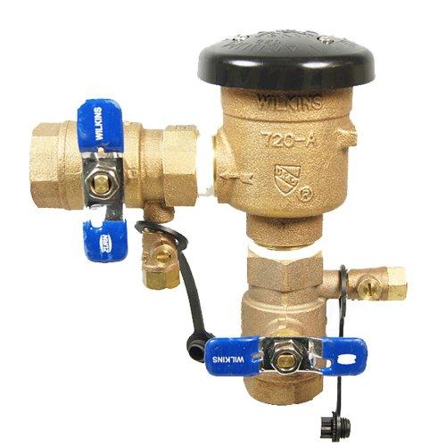 Backflow Irrigation Valve (Wilkins 720A 1inch Pressure Vacuum Breaker Complete Unit)