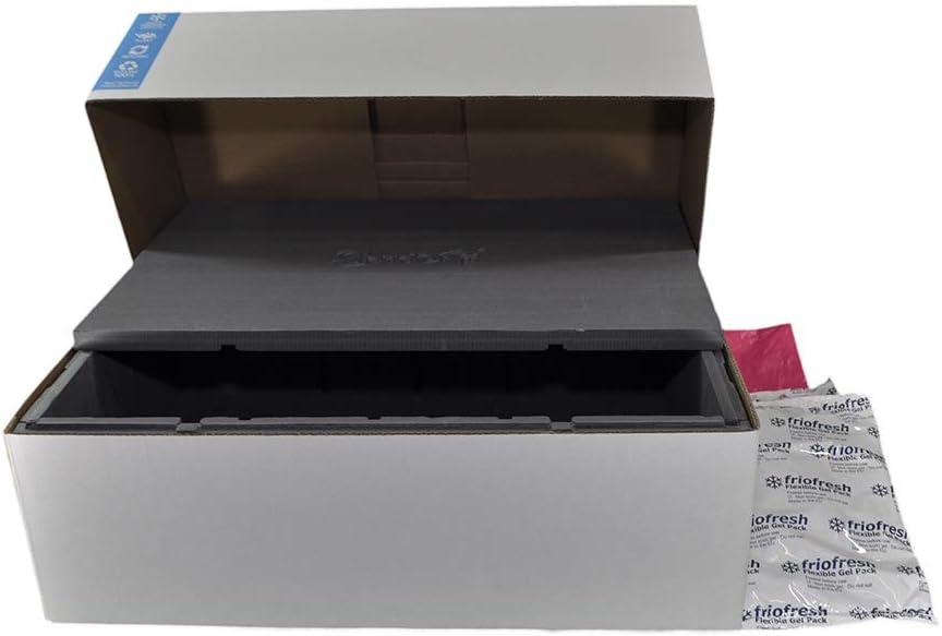 Sendo 4 Caisse Isotherme 24L Emballage Complet Pr/êt /à Exp/édier Solution E-Commerce Alimentaire