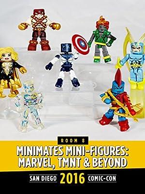 Minimates Mini-Figures: Marvel, TMNT and Beyond: SDCC 2016
