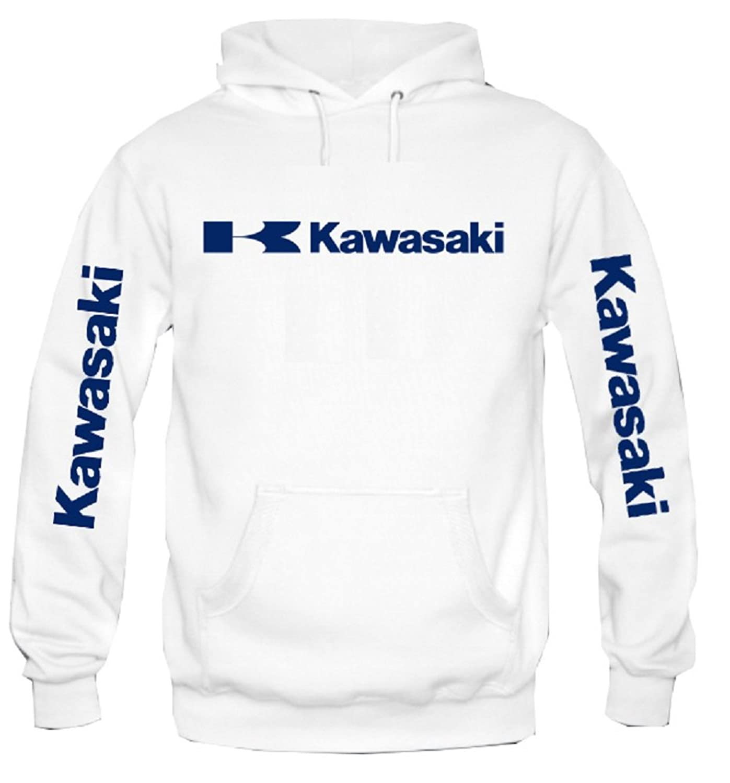 99d31d0d3 Sweat à capuche Sweat-shirt Kawasaki Moto racing SBU077 ...