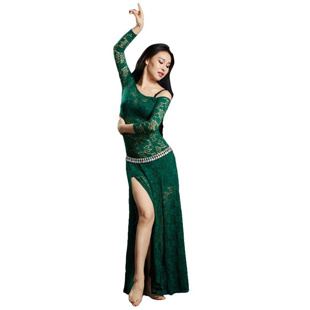 YiiJee Damen Tanzkleidung Bauchtanz Kostüm Eleganten Belly Dance Kleid Bauchtanz Tops