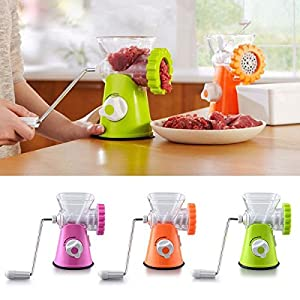 Manual Meat Grinder Mincer Machine Sausage Table Crank Tool Cutter Slicer Beef Multifunctional Meat Slicer Home Kitchen Tools -Ez2Shop