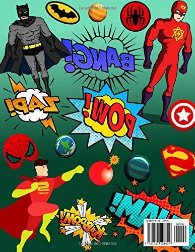 Amazon.com: 2019-2020 Academic Planner: Comic Super Heroes ...