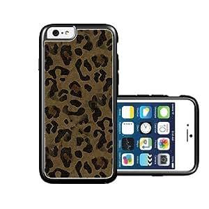 RCGrafix Brand Dark-leopard-skin iPhone 6 Case - Fits NEW Apple iPhone 6