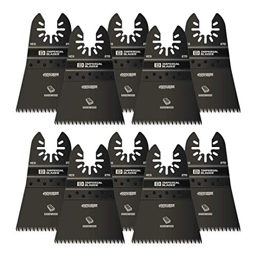 """One Fit 2-1/2"""" Japanese Tooth Hardwood Blade, 10PC"""