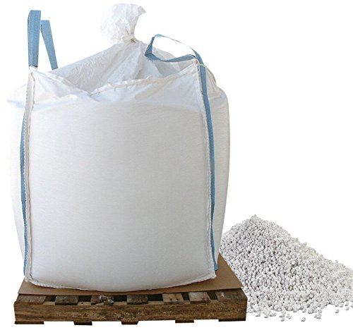 Bare Ground BGCCP-2000 CaCl2 Snow and Ice Melt Pellets in Professional Skidded Super Sack, 2000 lb