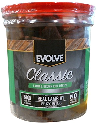 Evolve Nature's Menu Lamb & Rice Jerky - 22oz