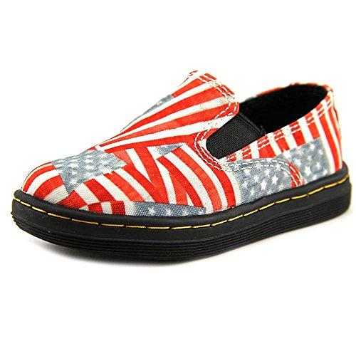 UPC 883985799561, Dr. Martens Boy's Nala Slip On Red Loafers 9 M UK, 10 M