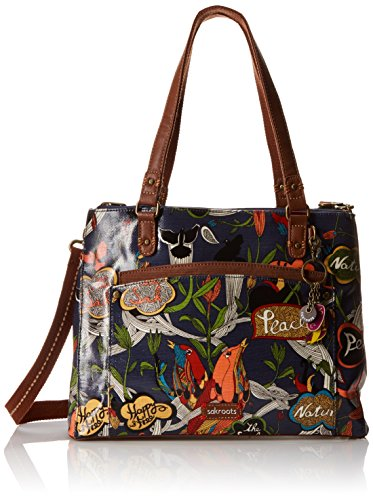Sakroots Sakroots Artist Circle Large Convertible Satchel Bag River Peace One Size Sakroots Handbags