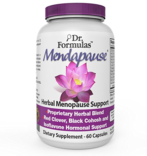 Mendapause by DrFormulas, Women Hormonal Balance Menopause Relief Supplement, Black Cohosh, Dong Quai, 60 Count