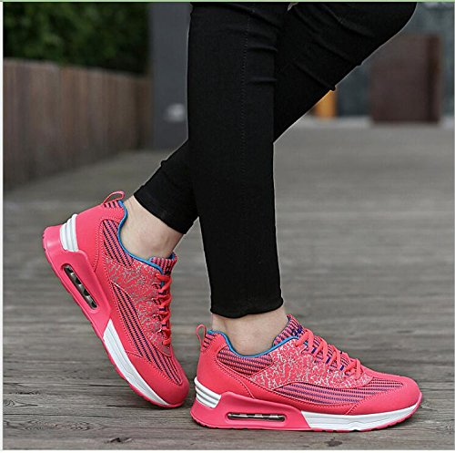 Scarpe Jogging Fitness Running Escursioni Stringate Trail Rosso Women Max Air Girls Trainer Sport Padgene Sneakers Ladies wC0zq8Uq