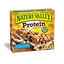 Nature Valley Chewy Granola Bar, Protein, Coconut Almond, 5 Bars - 1.4 oz (Pack of 6)