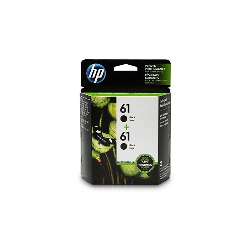 HP 61 Black Ink Cartridge (CH561WN), 2 I