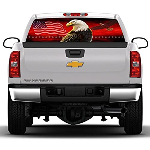 Pickup Truck Rear Window Decal Amazoncom - Truck decals for back window