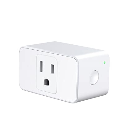 Meross WiFi Smart Outdoor Plug with 2 Grounded Outlets, Plug-in Heavy Duty Outlet, Remote Control, Timer, Waterproof, Works with Amazon Alexa, Google Assistant and IFTTT, FCC Certified MSS620