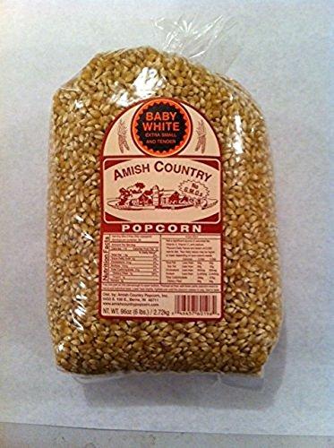 popcorn amish white - 3