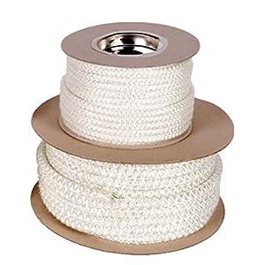 Corda morbida in fibra di vetro, ricambio per sportello della stufa,14mm x 1m (venduta al metro lineare) 1 spesavip