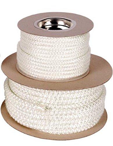 Corda morbida in fibra di vetro, ricambio per sportello della stufa,14mm x 1m (venduta al metro lineare) VOYTO