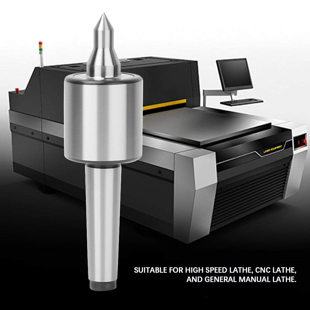 Centro en vivo de triple rodamiento de alta precisi/ón Liukouu MT2 para torneado de torno de metal