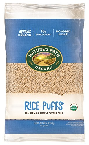 Nature's Path Organic Cereal, Rice Puffs, 6 Ounce Bag (Pack of 12)