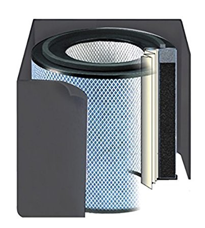 Replacement filter for Austin Air Bedroom Machine Air Purifier (Black Color)