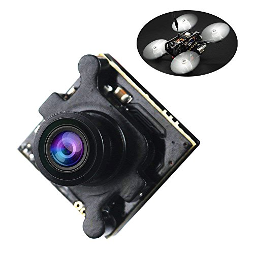 Crazepony FPV Camera Mini 960H 1080P HD Cam 2.1mm Lens with OSD NTSC / PAL Switchable for Multicopter Quadcopter by Crazepony