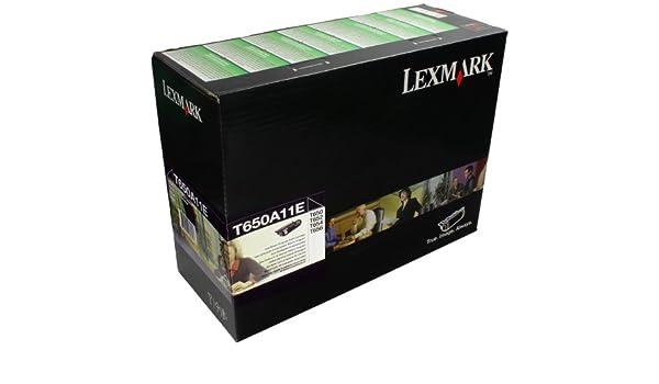 Lexmark T650A11E - Cartuchos de tóner, color negro: Amazon.es ...