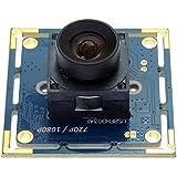 SVPRO 2mp High Megapixel 1080p CMOS OV 2710 30fps Mini CCTV USB Webcam Web Camera Module Autofocus for PC Computer, Laptop Android(Autofocus 100Degree)