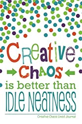 Creative Chaos Lined Journal