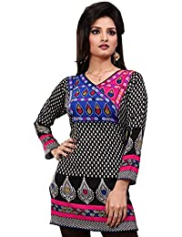 Maple Clothing Indian Kurti Women's Tunic Top Printed Blouse India Clothing