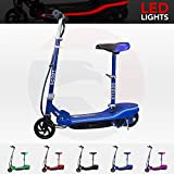 We R Sports® Electric E Scooter Ride on Rechargeable Battery Scooters With Led Light And Seat