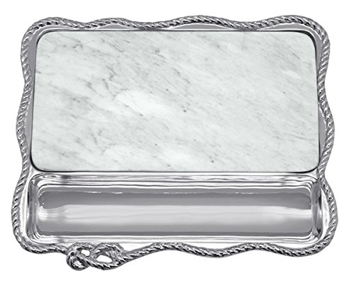 Mariposa Rope Marble Cheese Board by Mariposa High Seas Collection