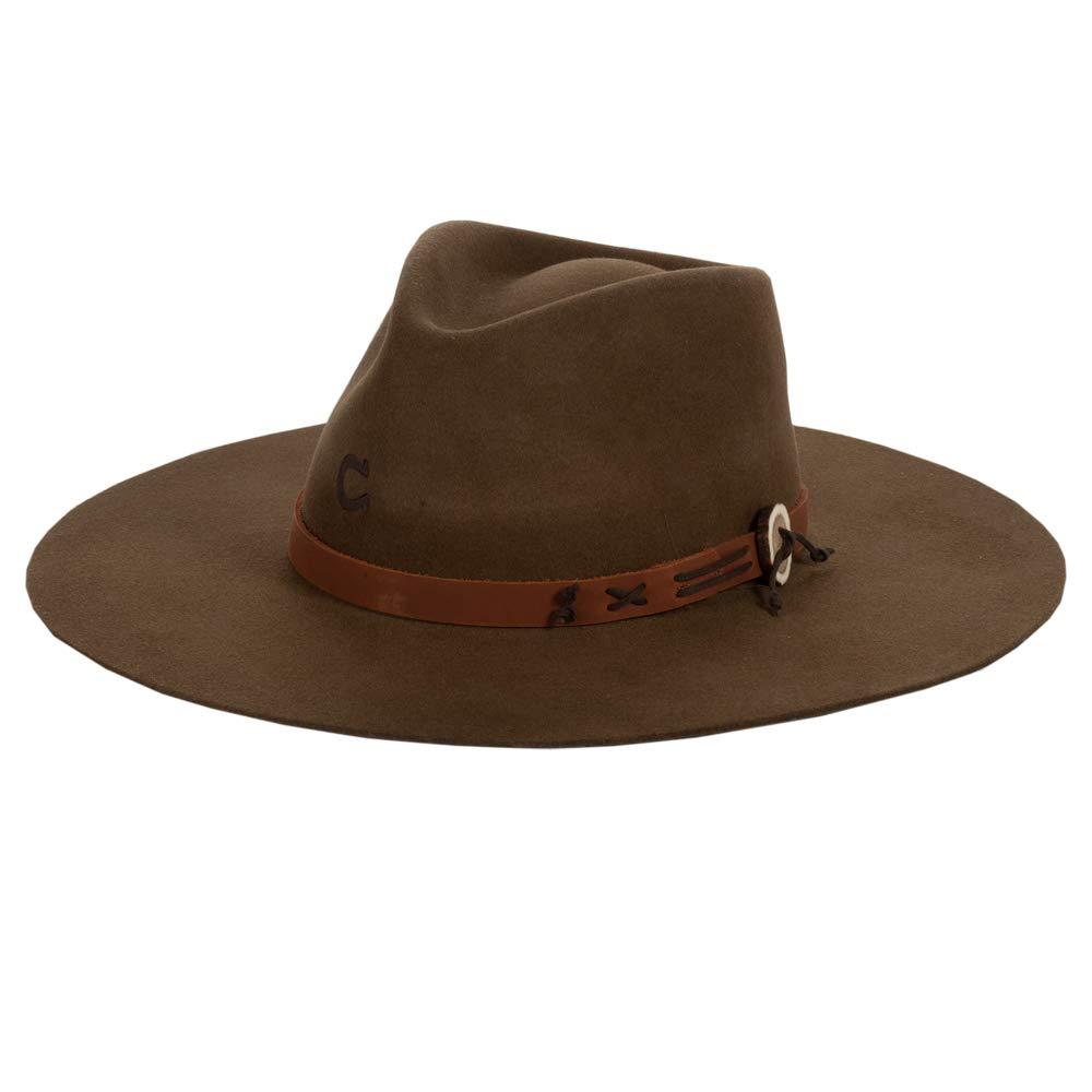 Charlie 1 Horse Oak Tee Pee Hat Large