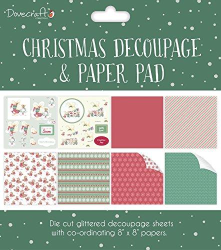 Pad Decoupage (Trimcraft Dcdpg008 Dovecraft Decoupage & Paper Pad 8