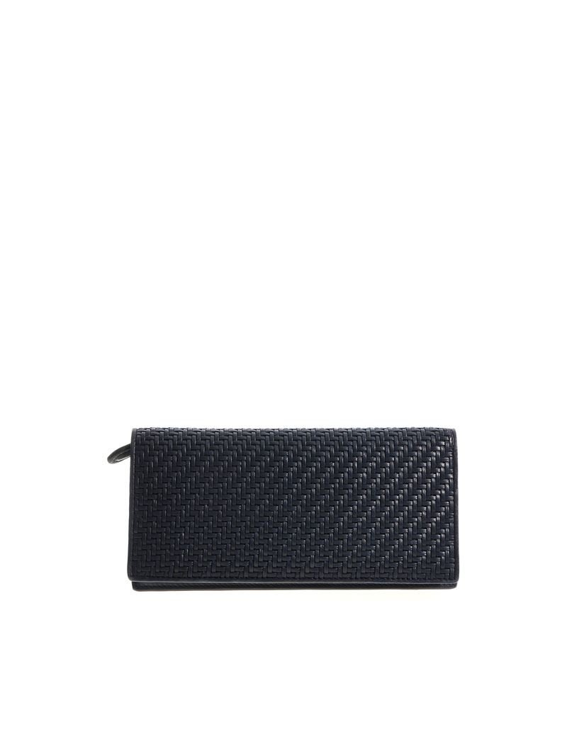 Z Zegna Men's E1244ppsmbud Blue Leather Wallet