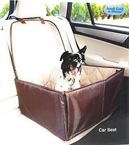 Ideas In Life Dog Car Seat Cover - 2 in 1 Bucket Seat Cover and Car Pet Seat - With Seat Anchor Strap and Dog Leash Connector by Ideas In Life (Image #7)