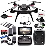 3DR Solo Quadcopter with 3-Axis Gimbal for GoPro HERO3+ / HERO4 + 3DR Backpack + Extra 3DR Smart Battery + Extra 3DR Propeller Set + SanDisk 32GB Extreme PRO microSDHC Memory Card + High Speed All-in-1 Card Reader + More!!!