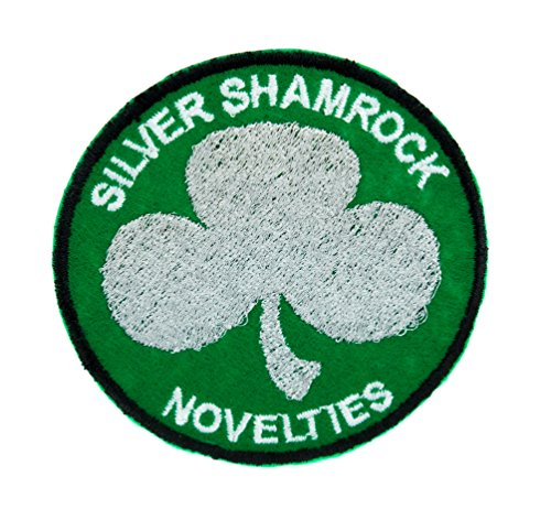Silver Shamrock Novelties Patch Iron on Applique Halloween III Clothing Horror Movie -