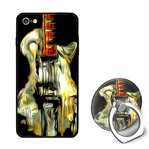 Awesome Guitar iPhone 6 Case,iPhone 6s Cover Shockproof Shell with Ring Kickstand Compatible for iPhone 6/6S (4.7-inch)