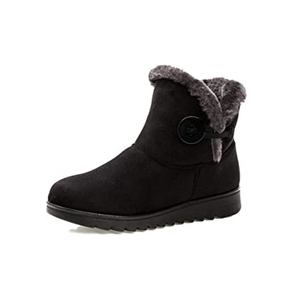 3941f46c88094 Amazon.com: YaXuan Women Boots, Winter Warm Snow Boots Women Ankle ...