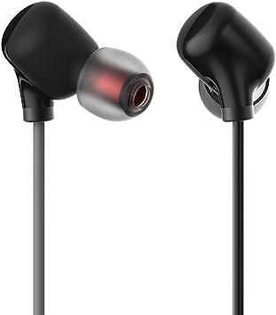 GranVela M27 Auriculares Bluetooth Inalámbricos Deportivos para Correr y el Gimnasio con Micrófono, Aislamiento de Ruido, IPX4 para iPhone, Samsung, y