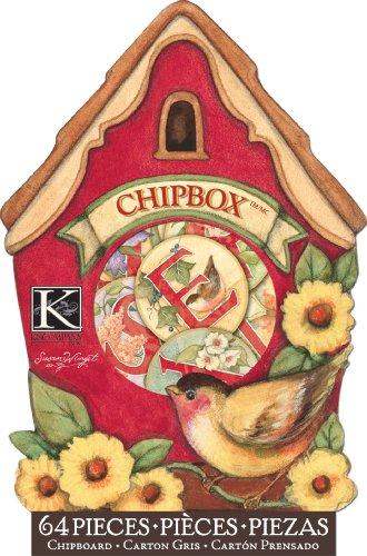 EK Success K and Company Susan Winget Meadow Birdhouse Chipbox