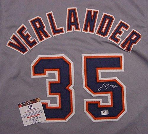 Detroit Tigers Justin Verlander Autographed Jersey