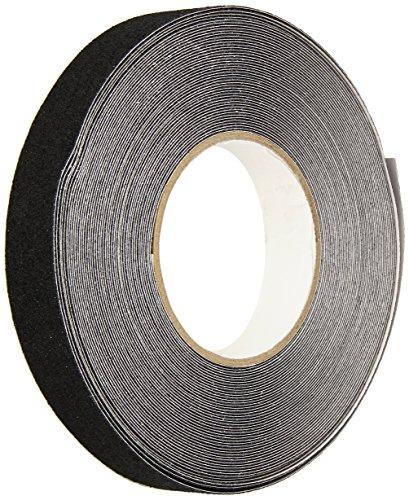 Heskins NSTS1N 60 Grit Anti Slip Adhesive Tape, 1'' x 60', Black by Heskins LLC