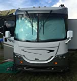RV Motorhome Collapsible Sunshade Class A LARGEST MADE -(2 panel shade) 2 qty. 50