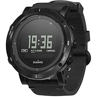 Suunto Essential Carbon Men's Adventure Watch (SS021215000)