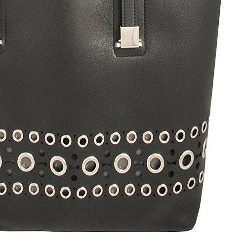 Jeans Mod Armani 928532 Black Portfolio Patent Women 65SHwA