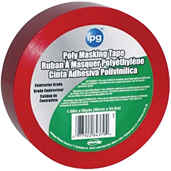 Intertape Polymer Group 4379PL Stucco Masking Tape, 1.88-Inch x 60-Yard