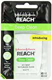 SPECIAL PACK OF 5 -Reach Deep Clean Floss, Icy Mint, 50 Yard by Johnson