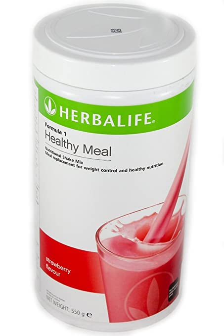16 opinioni per Herbalife Formula 1 Healthy Meal Nutritional Shake Mix Strawberry 550g